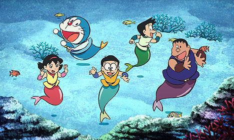 のび太の人魚大海戦